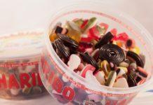 Bonbons Haribo boite personnalisée