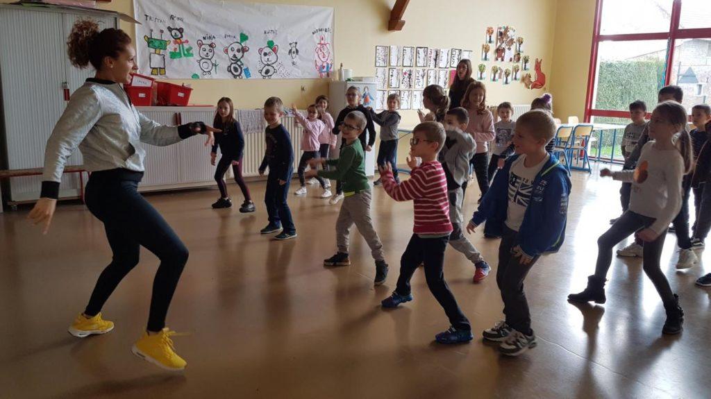 Activité danse en centre de loisirs