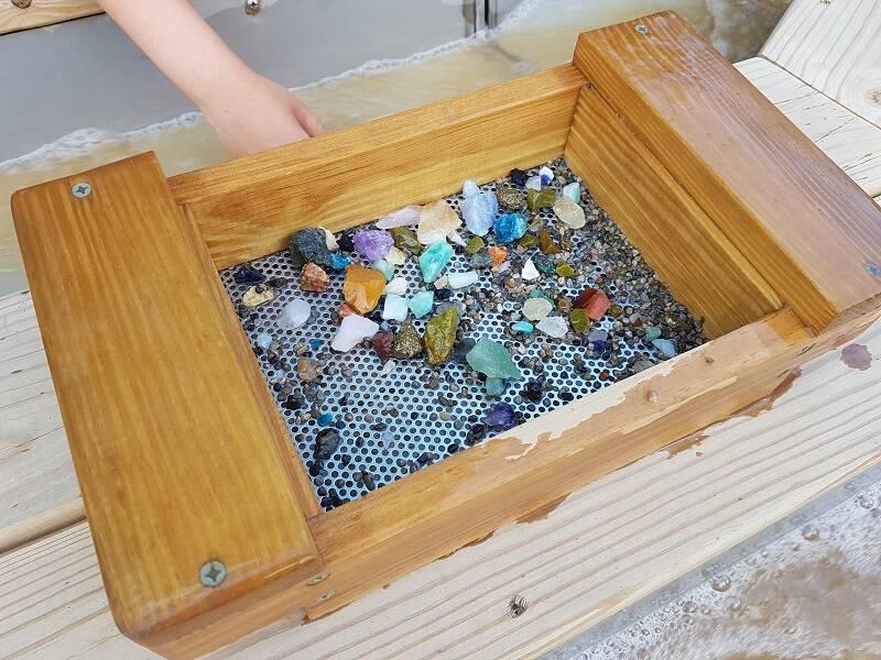 Tamiser des pierres