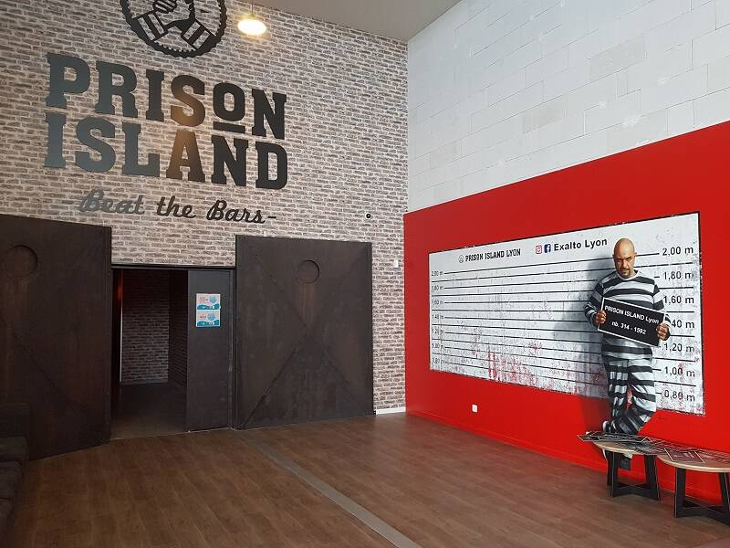 L'escape game - Prison island